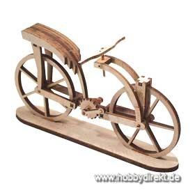 Fahrrad Leon. da Vinci Laserbausatz Krick 25903