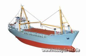 Küstenfrachter 10-Luken Baukasten Krick 28018