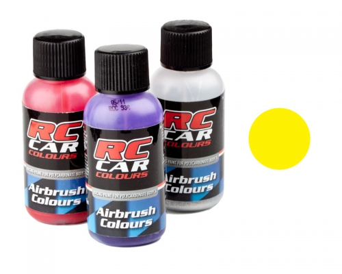 RC Car 1007 fluor gelb  30 ml Airbrush Krick 323007