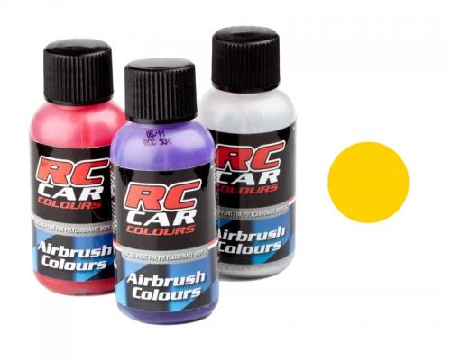 RC Car 019 gelb     30 ml Airbrush Krick 323019
