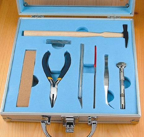 Schiffsmodell Werkzeugset 12 Teile Krick 444212