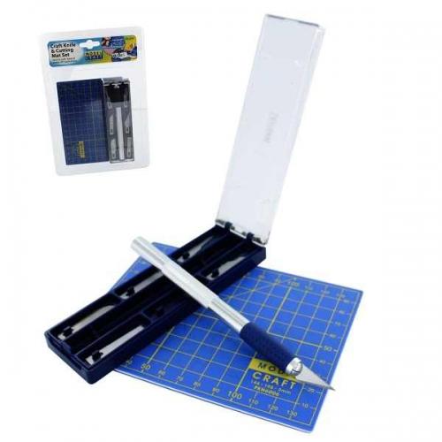 Messer Magnetic mit 6 Klingen + Schneidmatte Krick 444218