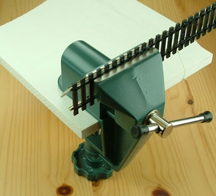 Mini Schraubstock Aluminium Krick 492142