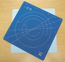Schneidmatte drehbar 31x31 cm selbstheilend Krick 492150