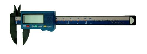 Digital Schieblehre 100 mm Kunststoff Krick 492300