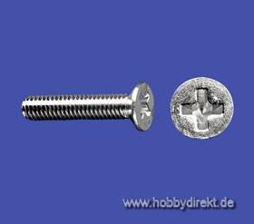 Senkschrauben M2,5x16(10Stk) Krick 51071