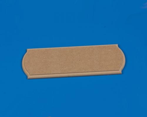 Grundplatte MDF 400x120x12 mm Krick 61106