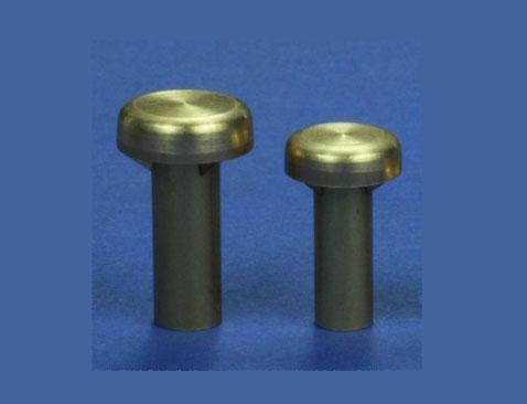 Rundlüfter flach MS 14 mm  (VE2) Krick 63264
