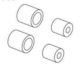 Luftfilter Schaumstoffeinsätz Krick 648063