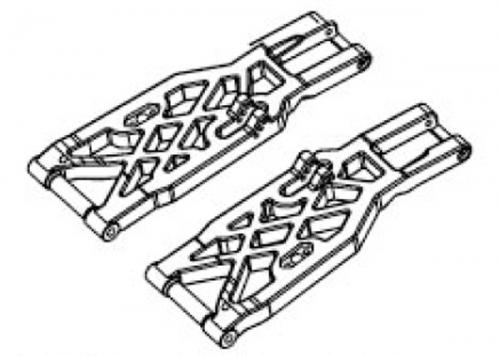 Querlenker vorne unten (Paar) Krick 648170