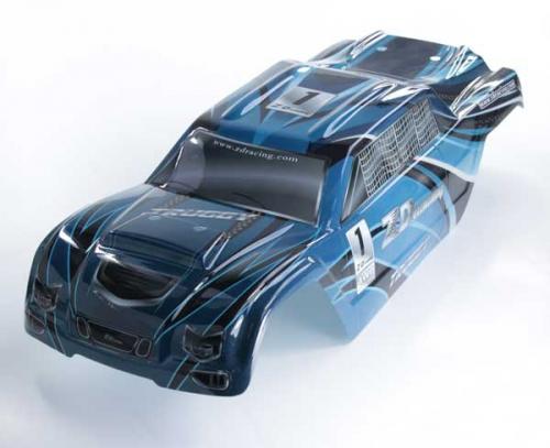Karosserie Truggy blau Krick 648285