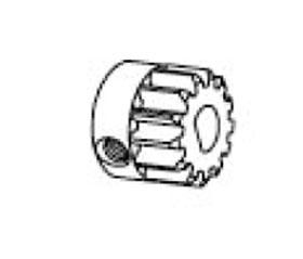 Motorritzel 16 Zähne I-� 5 mm Krick 648881