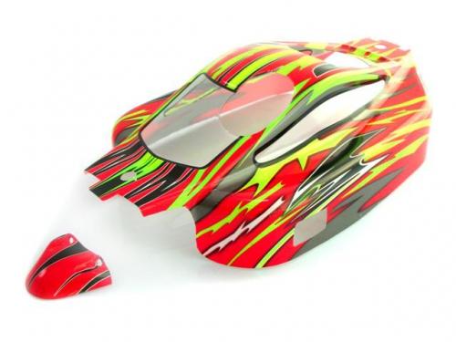 Karosserie Buggy rot/gelb N8 Krick 650897