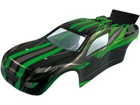 Karosserie Truggy grün XT E10 Krick 650917