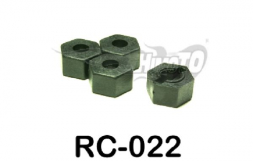 Radmitnehmer Hex 12 mm  4 Stück Krick 651220