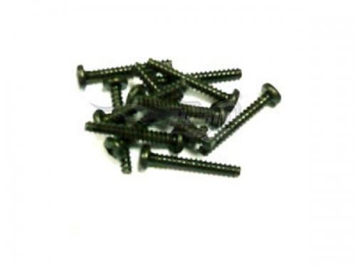 Rundkopf-Blechschraube 3x20 mm  12 Stück Krick 653076
