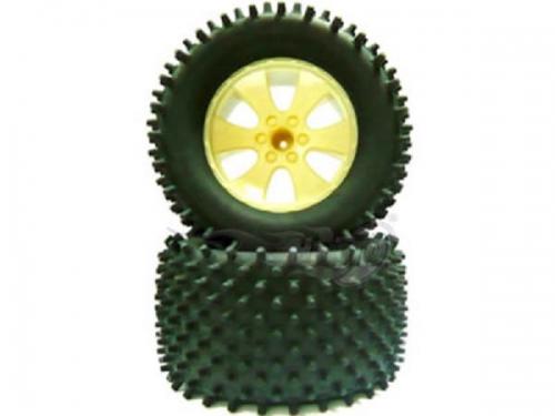 Nail Radsatz mit 6-Speichen F Krick 653201