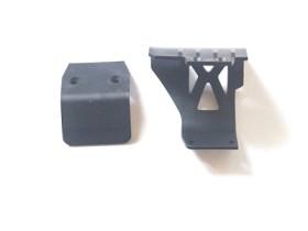 Vorderer Stoßfänger und Motorschutz Krick 654707
