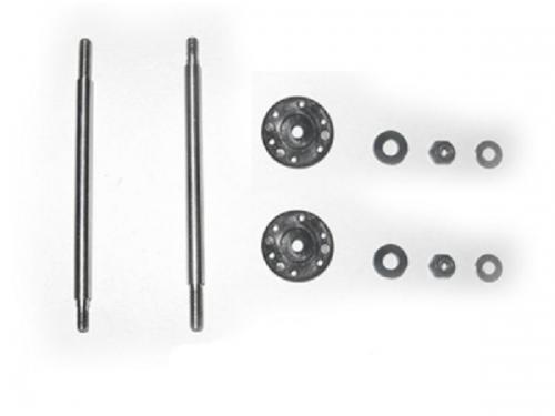 Stoßdämpferwellen 66,5 mm mit Kolben hinten (Satz) Krick 655050