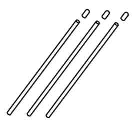 Antennenröhrchen Krick 655118