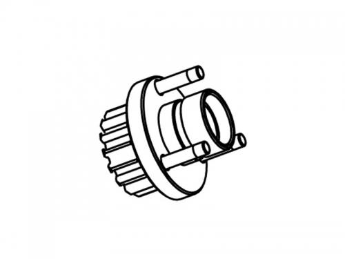 Aluminum Clutch Gear -15t MX4 Krick 655938