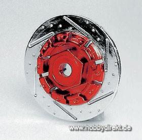Bremsscheiben Rot (4) Krick 669372