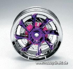 Felge 08 Chrom/Met. violett (4) Krick 669426