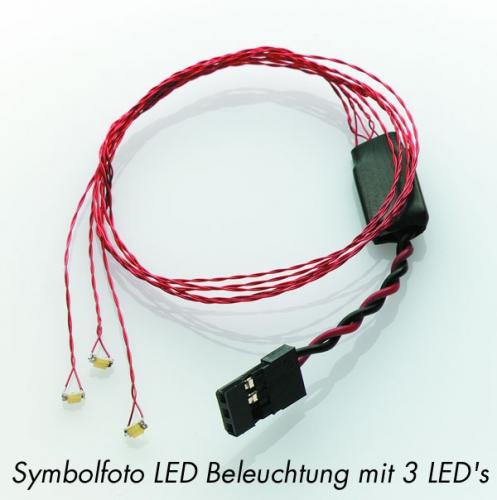 Lichtsystem Heli Deluxe groß Krick 67354