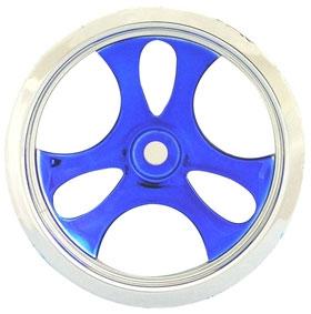 Romulin chrom/blau MT- Felge Krick 677650