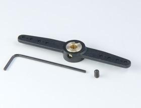 Ruderhebel 2-armig 71mm/4mm Bohrung Krick 70239