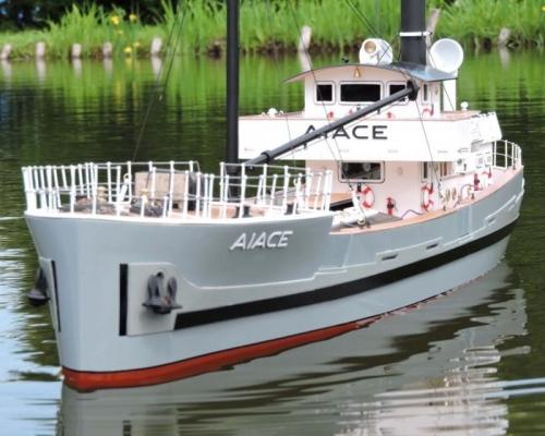 Aiace Frachtschiff Baukasten Krick 800731
