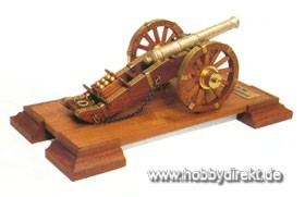 Napoleonische Kanone Baukasten Krick 800804