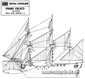 Segelsatz Royal Caroline Krick 834024