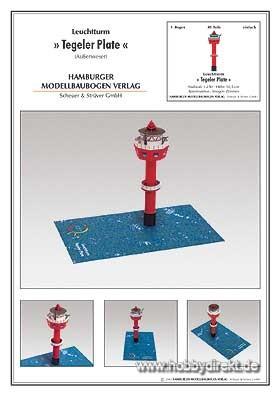 Leuchtturm Tegeler Plate Krick 90165