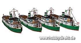 Hamburger Hafenfähren Kartonm.(4) Krick 90167
