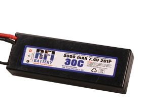 RFI LiPo C2S30C 7,4V/5000 mAh Krick 957156