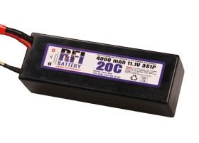RFI LiPo C3S20C 11,1V/4000 mA Krick 957162