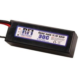 RFI LiPo C3S30C 11,1V/4000 mA Krick 957164