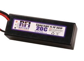 RFI LiPo C3S20C 11,1V/5000 mA Krick 957166