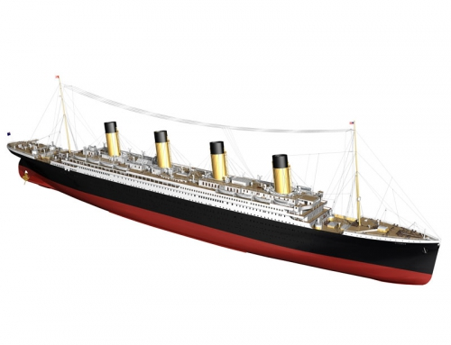 RMS Titanic  1:144 Bausatz Billing Boats BB0510
