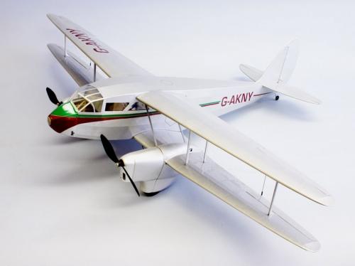 Dehavilland DH-89 Dragon Rapide EP Lasercut Bausatz Krick ds1815