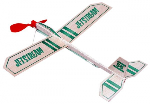 Jetstream 335 mm Gummiflugmodell (Display 18 Stück) Krick gu55