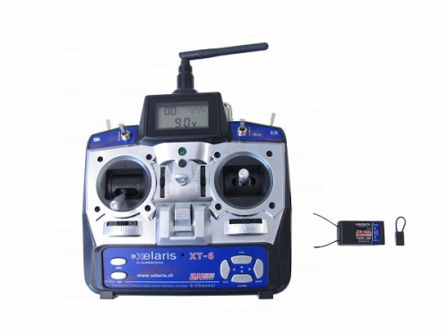 Xelaris XT-6 2.4GHz Sender+ E Krick hp011463