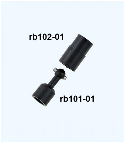 Schiffkupplung Nut (Female) Krick rb102-01