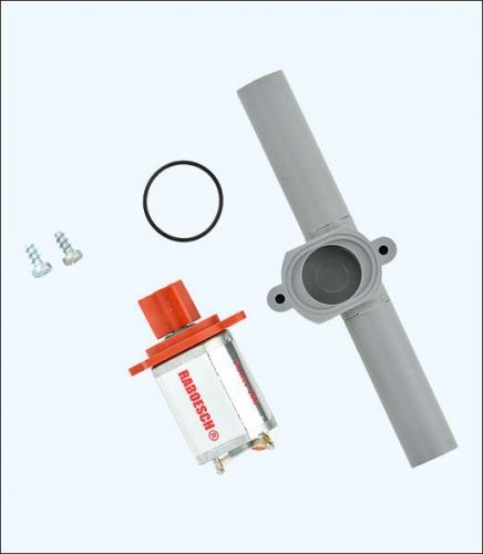 Mini Querstrahlruder 10/12 x 92 mm Krick rb108-20