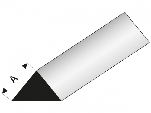 ASA Dreikantstab 90° 7x1000 mm Krick rb405-57