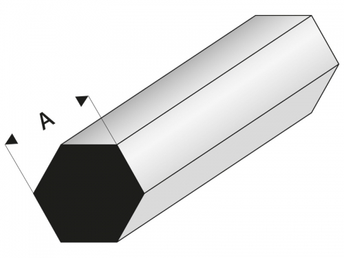 ASA Sechskantstab 2x1000 mm Krick rb406-51