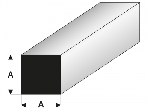 ASA Quadratstab 2,5x1000 mm Krick rb407-54