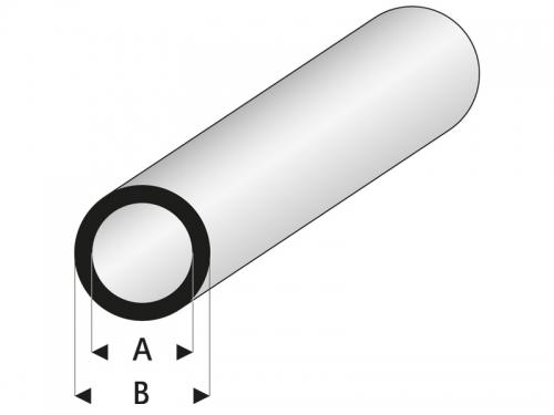 ASA Rohr 3x5x330 mm (5) Krick rb419-56-3