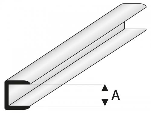 ASA Abschluss Profil 2x330 mm (5) Krick rb446-53-3